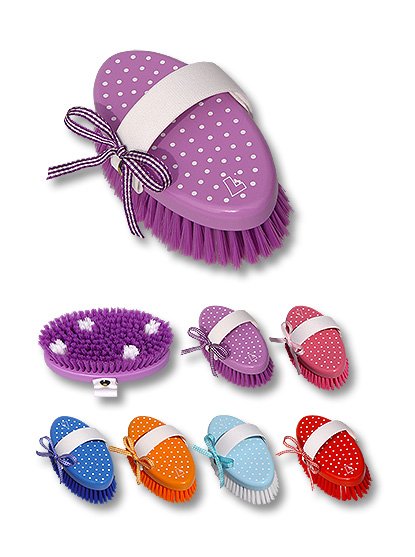 horse grooming brush Dotties