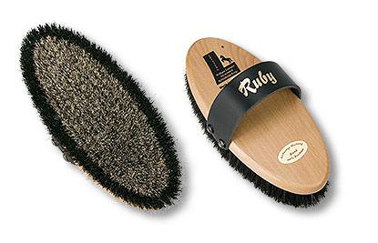 horse grooming brush Ruby