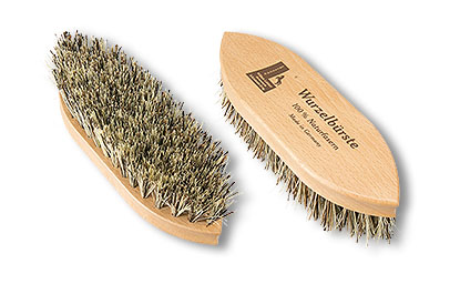 coarse grooming mud brush