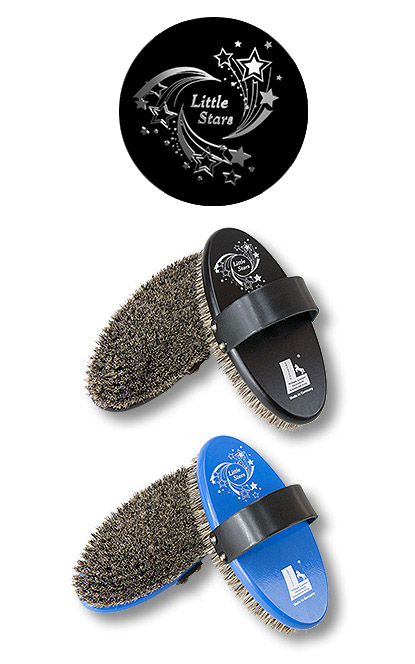1 d 29 little stars horse grooming brush