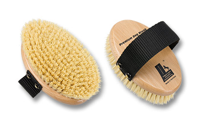 Premium Dog Brush natural fibres vegan