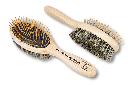 Premium Dog Brush Detangle Duo