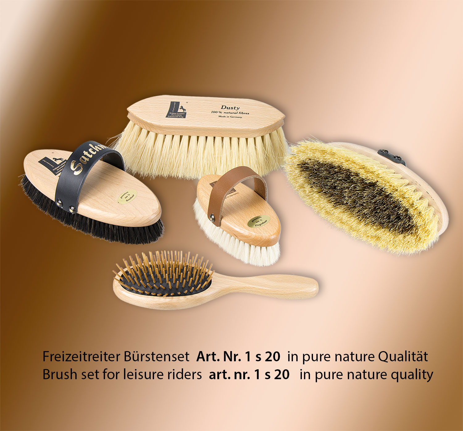 Bioseries horse grooming set