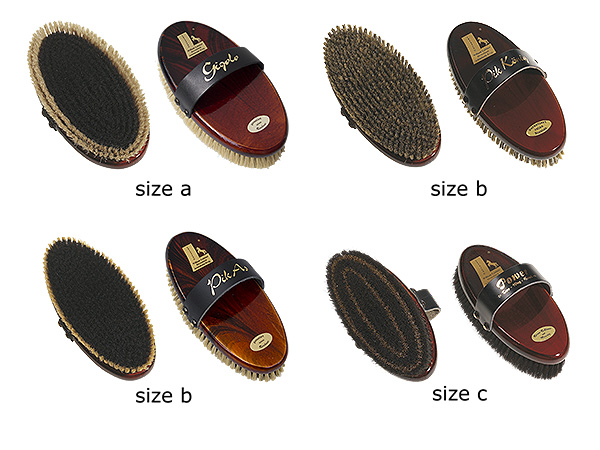 horse grooming brushes classic style